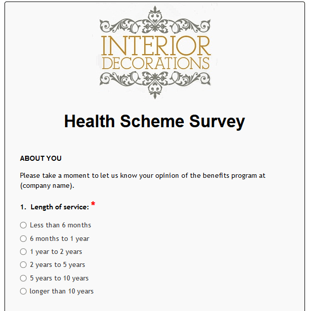 Health Scheme Survey