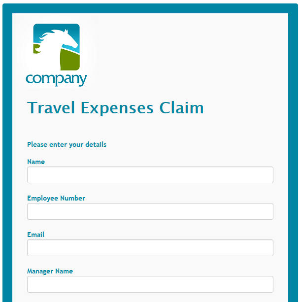 Travel Expenses Claim